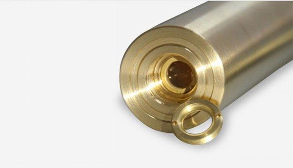 Gold-Shell-blauer Strahl Laserpointer